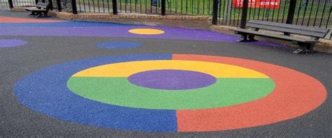 Poured Rubber Flooring For Playgrounds by Playground Rubber Flooring Bonded Rubber Mulch Pour