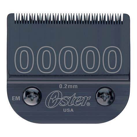 Oster® Detachable 00000 Blade Fits Titan, Turbo 77, Primo