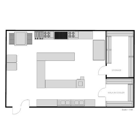 floor layout design restaurant kitchen floor plan