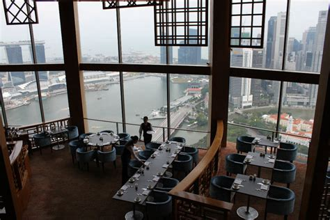 equinox cuisine food review equinox the panoramic view of singapore at