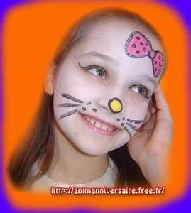 Maquillage Simple Enfant : maquillage hello kitty maquillages pinterest maquillage enfant maquillage et enfants ~ Melissatoandfro.com Idées de Décoration