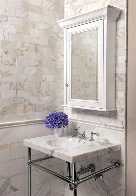 marble tile  gold trim design ideas