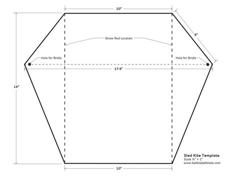 The Ends Of A Kite Template by How To Make A Kite Babble Dabble Do