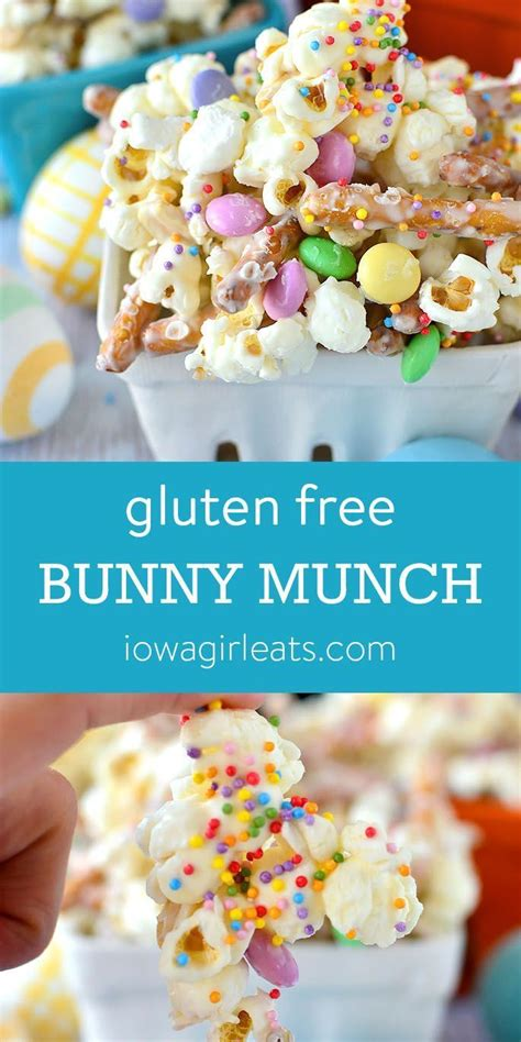 Including everyone's favorite ham recipes, classic lamb dishes, amazing deviled eggs, savory side dishes, spring desserts, and easter brunch ideas. Gluten Free Bunny Munch | Recipe | Gluten free easter ...