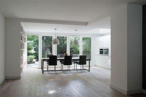 binnenhuisarchitect ede witte keuken in aanbouw white wash eiken vloer