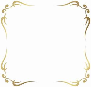 Decorative Border PNG Transparent Decorative Border.PNG ...