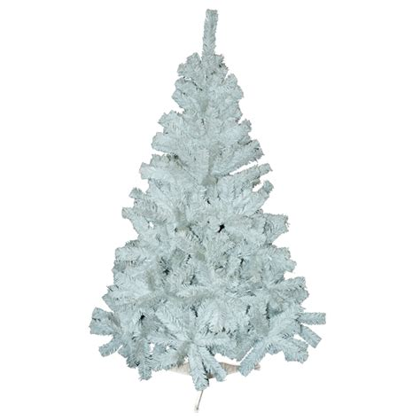6ft white christmas tree artificial fern 480 tip with stand