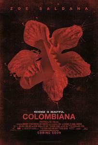 Colombiana 2011 mini movie poster (Zoe Saldana) - Movie ...