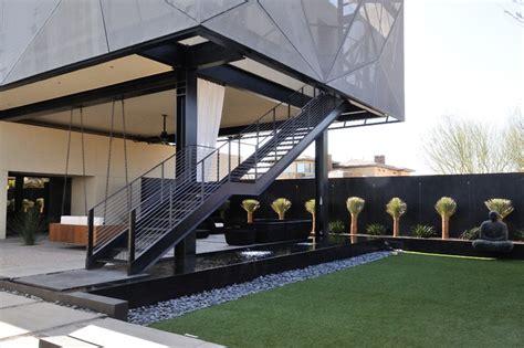 patio cusions freestanding stairways modern landscape las vegas