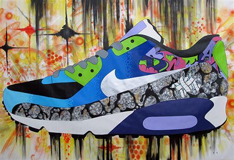 brasseur d air mural sekure d x nike air max 90 mural time lapse sneakernews