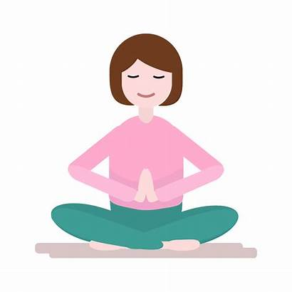 Meditation Clipart Relaxation Muscle Transparent Insomnia Technique