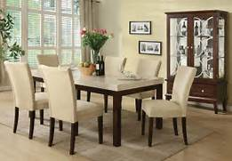 Granite Top Dining Table And Chairs by Kyle Casual White Marble Top Dining Table Set 7pc