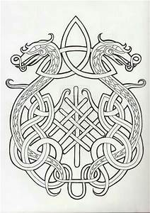 dragon celtic knot | embroidery | Pinterest | Coloring ...