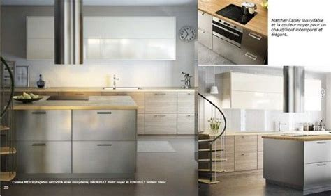 ikea facade cuisine cuisine metod facades grevsta acier inoxydable brokhult
