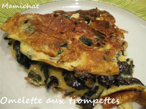 cuisiner trompettes de la mort omelette aux trompettes de la mort le de chantal76