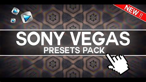 New Sony Vegas Presets Pack (my Top 100 Best Effects