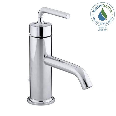kohler vessel sink faucets kohler purist single hole single handle low arc bathroom