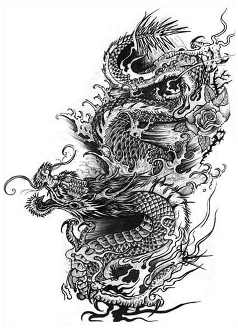 25 best Dragon Art images on Pinterest | Japan tattoo, Dragon tattoos and Dragon tattoo designs