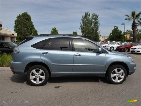lexus blue 2008 breakwater blue metallic lexus rx 350 awd 31851484