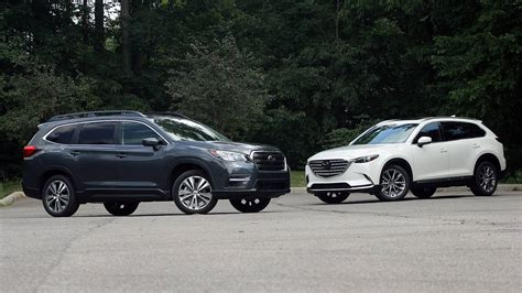 subaru ascent  mazda cx  substance meet style