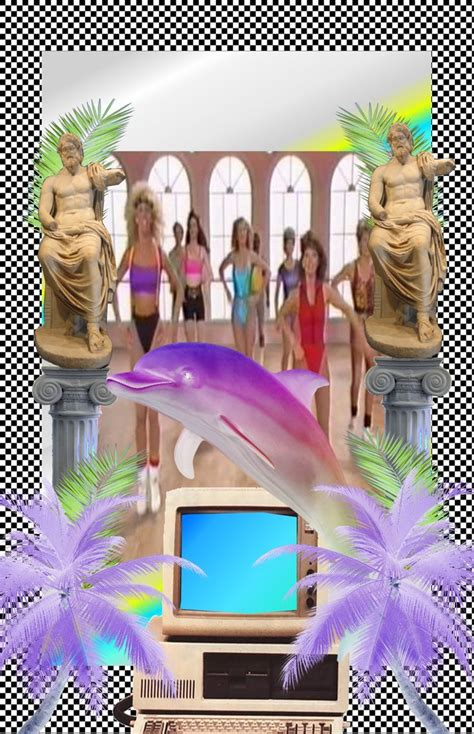 vaporwave art tropical vibes vaporwave vaporwave art art