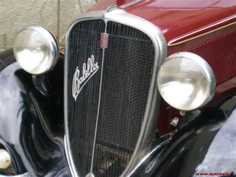 Fiat 508 Balilla Viotti 4 Marce 1934 3 Fiat 508 Balilla 3