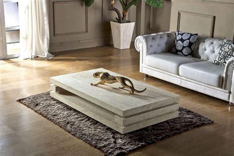 living room center table decor high end living room furniture iran travertine stone