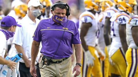 Ed Orgeron frustrated after LSU's 'embarrassing' effort on ...