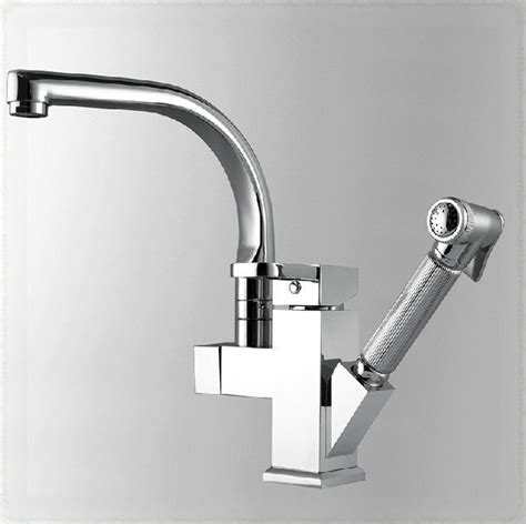 Wall Mount Kitchen Faucet With Pull Out Spray by 2 Way Kitchen Faucet Chromed Brass Sink Mixer Tap Pull Out