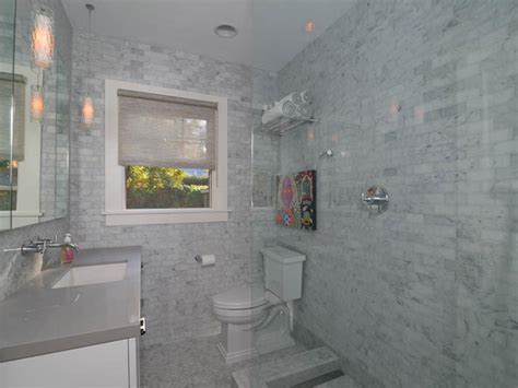 grey marble bathroom contemporary marble bathroom kerrie kelly hgtv