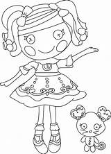 Coloring Pages Doll Rag Lalaloopsy Cartoon Lulav Etrog Dolls Wecoloringpage Mermaid Printable Getcolorings Sheets Books Drawing Nice Check Bubakids Pony sketch template