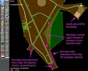 How To Draw Airport Boundaries