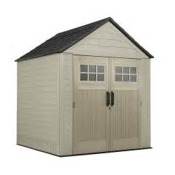 rubbermaid x large 7 x 7 gable storage building