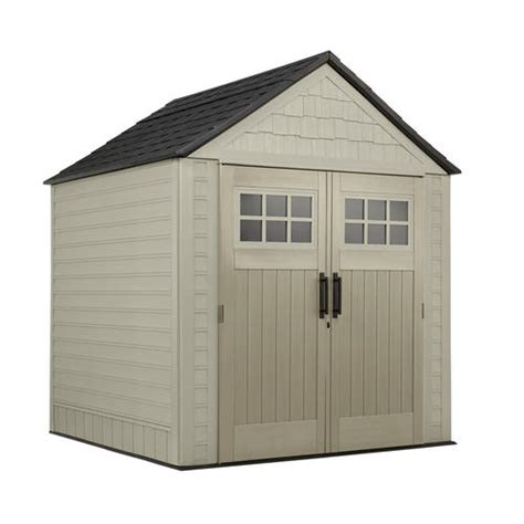 rubbermaid storage sheds menards rubbermaid x large 7 x 7 gable storage building at menards 174