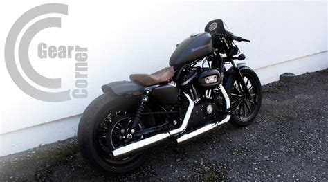 Harley Davidson Iron 1200 Modification by Harley Sportster Iron Custom Bobber 166 Modification Tuning