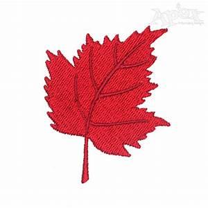 Elegant Designs Inc Canada Maple Leaf Applique Embroidery Design
