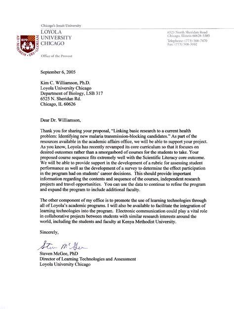 reference letter sample university application
