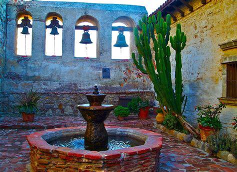the sacred garden of mission san juan capistrano