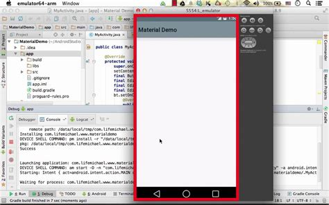 how to debug android simple debugging in android studio