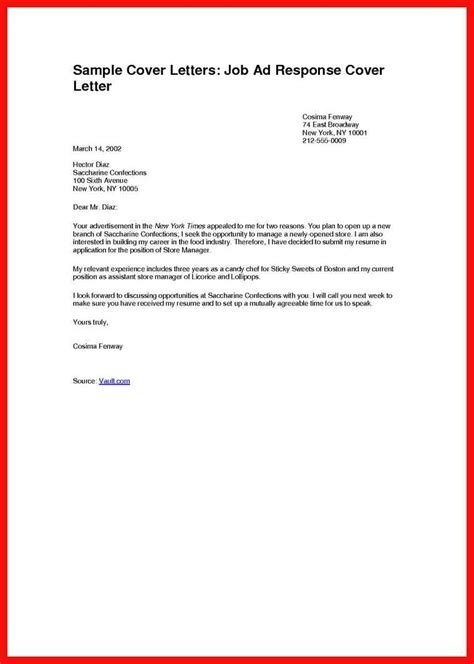 Cover Letter Set Up setting up a cover letter apa exle