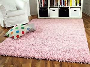 hochflor langflor shaggy teppiche in pinklila und rosa With balkon teppich mit rosa tapete mit glitzer