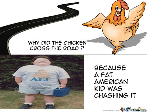 Why Did The Chicken Cross The Road ? By Recyclebin  Meme Center