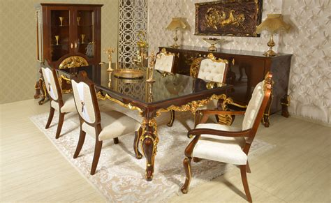 Classic Dining Rooms  Turkey Ottoman Dining Room Sets
