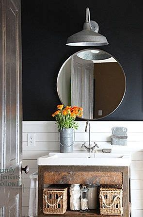 rustic industrial bathroom future dream home