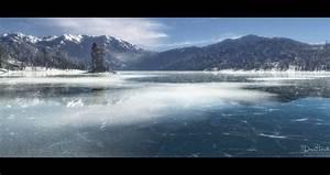ArtStation - Frozen Lake, Drea Horvath