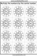WorksheetFun On Pinterest Worksheet On 12 Times Table Printable Multiplication Table 12 Times Tables Circles Sheet 1 6 Times Tables Circles Sheet 1 Answers Multiplication Worksheets Dynamically Created Multiplication
