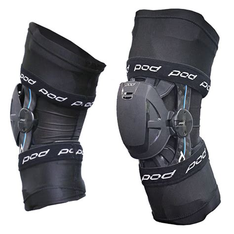 pod kx knee brace  sleeves pair motocross body