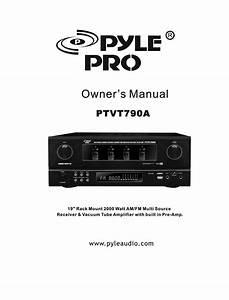 Pyle Pro Ptvt790a Manuals