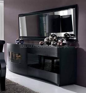Buffet Avec Miroir : aparador com espelho egg ao melhor pre o s em moveis online ~ Teatrodelosmanantiales.com Idées de Décoration
