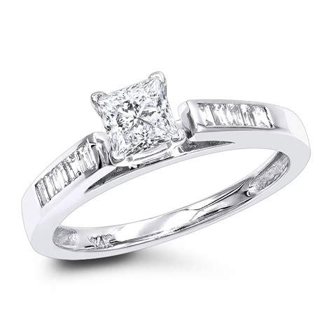 cheap engagement rings ct princess cut diamond